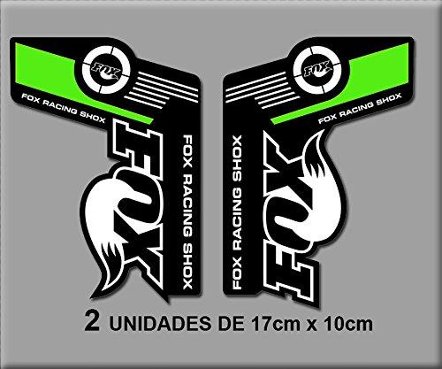 Fox Racing Logo Aufkleber Decal Sticker Schwarz Vinyl