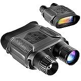 SOLOMARK 赤外線望遠鏡 ナイトビジョン 暗視スコープ デジタルカメラ 双眼鏡 400m / 1300ft 7倍の倍率 640x480p HD 日本語説明書付き