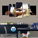 Gourmet Ernährung Frühstück Bild Poster Leinwand Malerei