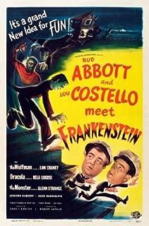 Abbott Costello Meet Frankenstein Movie Poster 24x36