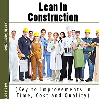 Lean in Construction cover art