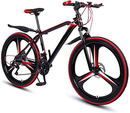 RDJM Bciclette Elettriche Mountain Bike Pieghevole Bicicletta for Adulti, MTB Dual-Freno a Disco in Lega di Alluminio della Bici di Montagna, 26 Pollici 27 velocità Doppio Ammortizzante Freno a Disco