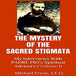 The Mystery of the Sacred Stigmata audiobook cover art