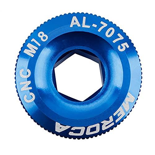 WLDOCA 2 uds Pernos de manivela de Bicicleta de aleación de Aluminio Tornillo de Cubierta de manivela de Bicicleta de montaña Perno de Brazo de manivela para Bicicleta de Carretera MTB,C,M18