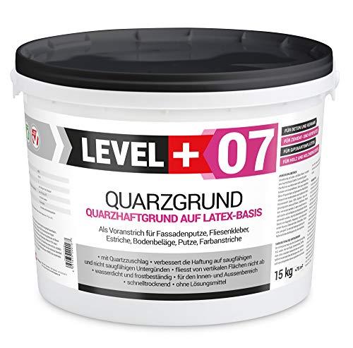 15 kg Quarzgrund Putzgrund Haftputzgrund Grundierung für Beton Putz Primer weiß RM07