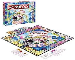 Monopoly Sailor moon Gioco da tavolo Boardgame Nerd