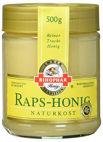 Bihophar Raps-Honig mit Frühjahrstracht, 500 g
