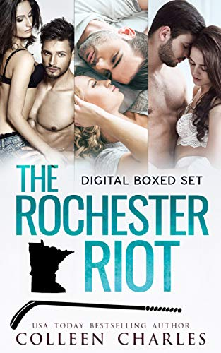 Book: The Rochester Riot Digital Boxed Set - The Slot - The Crease - The Rebound by Colleen Charles