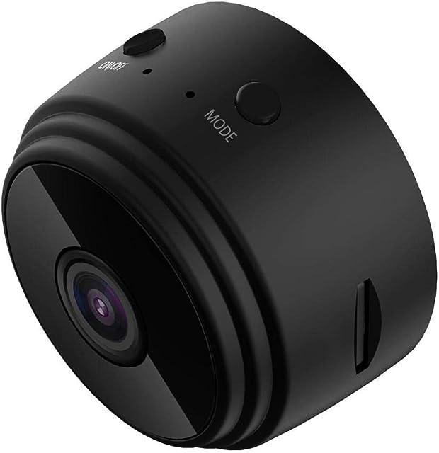 Asiproper A9 Mini DV WiFi Cámara 1080P Imán Visión Nocturna Detección de Movimiento