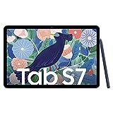 Samsung Galaxy Tab S7, Android Tablet mit Stift, 4G, WiFi, 3 Kameras, großer 8.000 mAh Akku, 11,0 Zoll LTPS Display, 128 GB/6 GB RAM, Tablet in blau