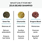 ZEUS 8oz Beard Shampoo, Cruelty Free Beard Wash, USA MADE, Natural Ingredients, Cleanse, Soften, Aides Itching & Flaking… 4