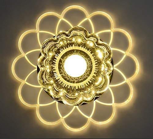 Moderne plafondlamp van kristal, D-J Beige