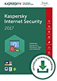 Kaspersky Internet Security 2017 - 1 User 1 Year - German / EU license - No CD/DVD - Only key Code (30 Days Money Back Guarantee) -