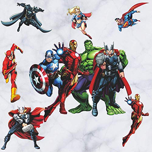 Avengers Endgame Babykamer Spiderman Slaapkamer Decoratie Muursticker Behang Wonen
