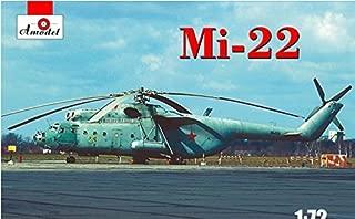 PLASTIC MODEL BUILDING KIT MI-22 SOVIET HELICOPTER 1/72 AMODEL 72149