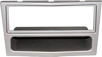 AERZETIX: Marco adaptador para radio de coche 1DIN Color: plata