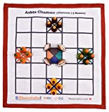 Bharataha ! Ashta Chamma Game (Rawsilk) - Chowka Bhara   Katte Mane   Indian Board, Strategy Game for Kids / Family   5 Houses