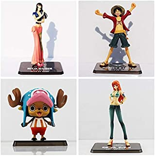 Chopper Luffy Nico Robin Nami PVC Action Figure Toy Great Gift for Kids Must Have Toys 6 Year Old Girl Gifts Boys Favourite Characters Toddler Superhero Animators Collection