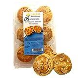 Lázaro Almendrados Sin Azúcar, Pastas Artesanales con Almendras Sin Azúcares Añadidos, 330 Gramos, 12 Unidades