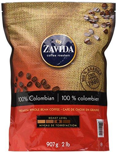 Zavida Coffee 100% Colombian Whole Bean