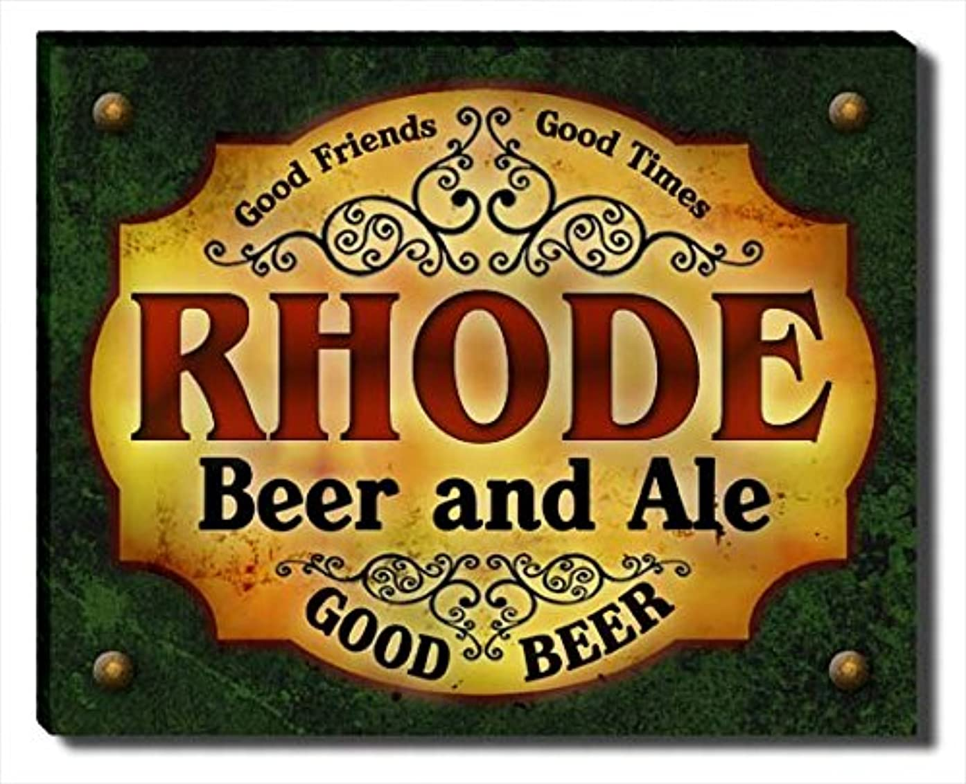 ZuWEE Rhode Family Beer and Ale Gallery Wrapped Canvas Print