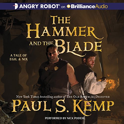 The Hammer and the Blade audiobook cover art