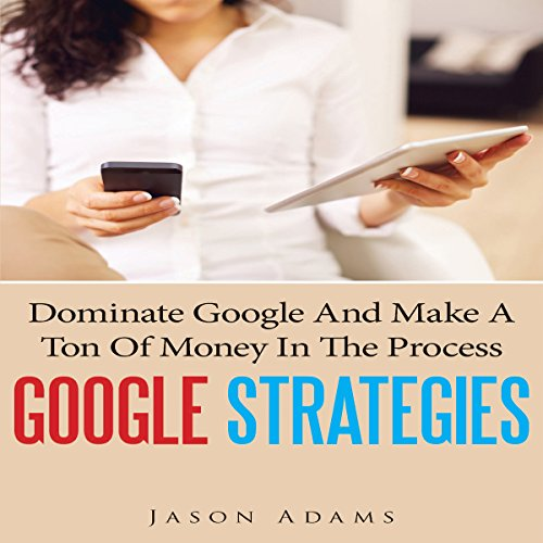 Google Strategies audiobook cover art