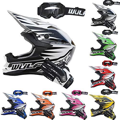 Wulfsport Handschuhe Stratos Größe S Pink Moto Cross MX BMX Motorrad Quad Enduro