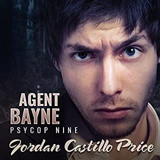 Agent Bayne audiobook cover art