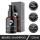 BEARD ELEGANCE Bart Shampoo - Premium Bartshampoo Bio & Vegan - Reinigung Und Pflege Für Jeden...