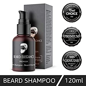 """✔️ ANTI JUCKREIZ – Eines der größten Probleme bei Bartlängen ab einem Zentimeter ist das ständige, penetrante Jucken. Gerade während des Wachstums wird """"Mann"""" hier gern mal auf die Probe gestellt. Dank dem Bart Shampoo von Beard Elegance gehört diese..."""