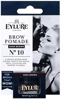 Eylure Eyebrow Pomade Brow DarkBrown # 10 1 ct, 0.21 oz