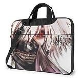 15.6″Durable Hombro Mensajero Bolsa maletín PC Terror en Tokyo Moda Impermeable Ordenador Portátil/portátil/Tablets