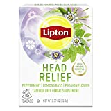 Lipton Tea Bags For A Hot or Iced Beverage with Peppermint, Lemongrass and Passion Flower Head...
