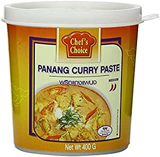 Chef's Choice Yellow Curry Paste - 14 ounces per jar (Pack of 6)