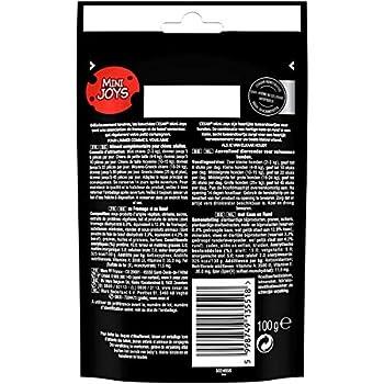 CESAR Mini-Joys - Récompenses au Fromage et au Bœuf pour Chien, 6 Sachets de 100g de Friandises