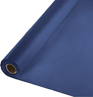 Best navy plastic tablecloth roll Reviews