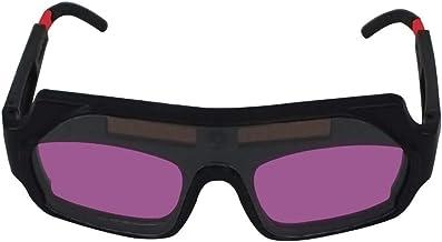 Nishore Óculos de solda com escurecimento automático Óculos anti-reflexo Óculos de solda a arco de argônio