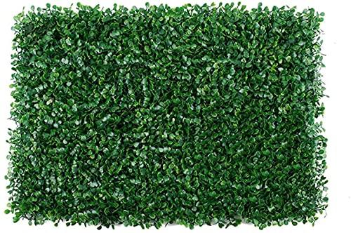 YZJL Paneles de boj Artificial Planta de seto Hierba de imitación Decoración de Pared Verdor Muro Tapetes de boj Decoracion Jardin(Color:4pcs)