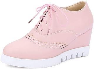 BalaMasa Womens APL12183 Pu Platform Heels