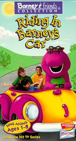 Riding in Barneys Car [VHS]