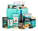 Thornton & France ' The Metropolitan Gourmet' Deluxe Christmas Hamper WIth Red Wine   Packed With Sweet & Savoury Treats   Ideal For Sharing Gift Hamper For Couples & Families  