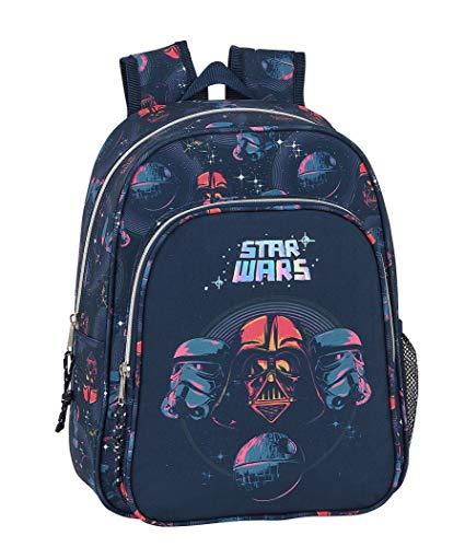 Mochila Safta Escolar Infantil de Star Wars  270x100x330mm