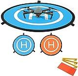 Linghuang 110 cm RC Drone Landing Pad Tappeto di Atterraggio Pieghevole per DJI Mavic Air Mavic 2...