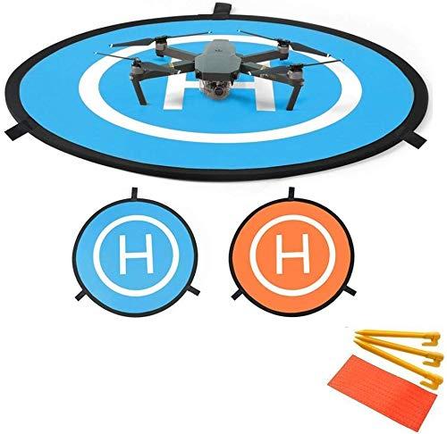 Linghuang 110 cm RC Drone Landing Pad Tappeto di Atterraggio Pieghevole per DJI Mavic Air Mavic 2 PRO Zoom Mavic 2 Phantom DJI 2 3 4 Quadcopter Pad per Lancio e Decollo