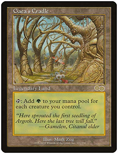 Magic The Gathering - Gaea39;s Cradle - Urza