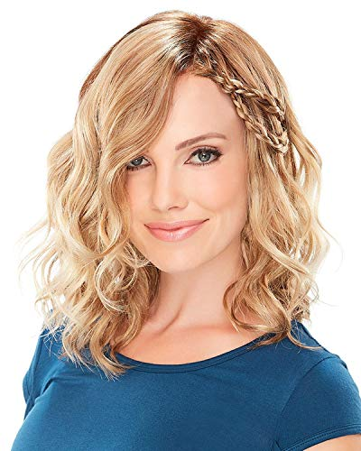 Mila Petite Lace Front & Monofilament Synthetic Wig by Jon Renau in FS6/30/27, Length: Medium