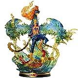 DWWSP 彫像 ワンピースポートレートオブパイレーツ:マルコザフェニックスPVCフィギュアコレクタブルアクションフィギュア子供向けの最高のギフト大人とアニメファン-高15.7インチ