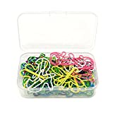Honbay 60pcs Colorful Creative Assorted Animal Shape Metal Paper Clips