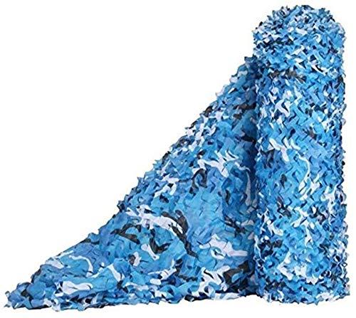Toldos Sombra, Toldo Azul De Red De Camuflaje Para Niños Jugando Ocultar Decoración Para Acampar | Red De Camuflaje De Tiro De Caza Anti-ultravioleta De Tela Oxford ( Size : 5x10m(16.4*32.8ft) )